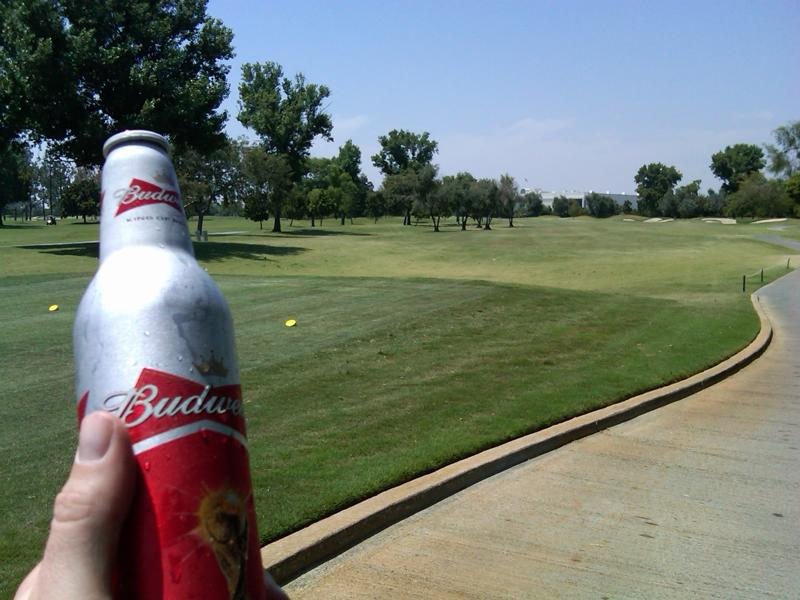 I love golf and I love beer haha. It is really hard to beat a day on the course with a few brews.